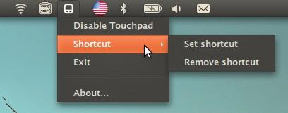 Touchpad-indicator - индикатор управления touchpad для Ubuntu