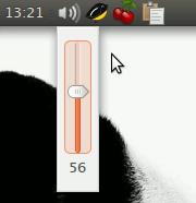 Регулятор громкости в Ubuntu