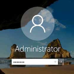 Вход пользователя в Windows 10