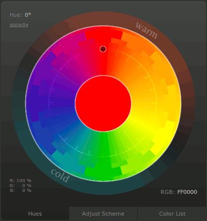 Инструмент для подбора подходящего цвета для web-разработчиков