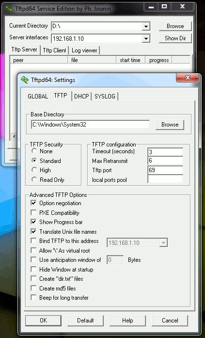 Tftp сервер Windows 7 64 скачать - фото 9