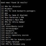 Поиск PPA-репозиториев в терминале